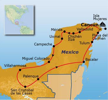 Mexico 19 dagen