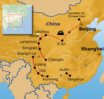 Route China, 31 dagen