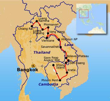 Laos & Cambodja, vanaf 13 Juli 2019