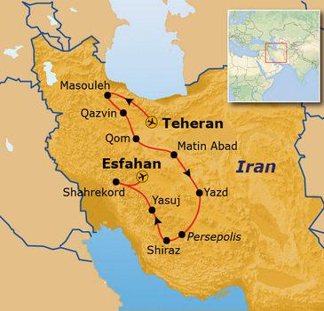 Route Iran, 19 dagen