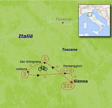 Fietsvakantie voor families in Toscane