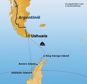 Antarctica Route 2019