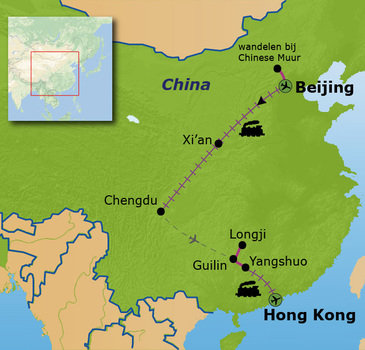 Route China, 18 dagen