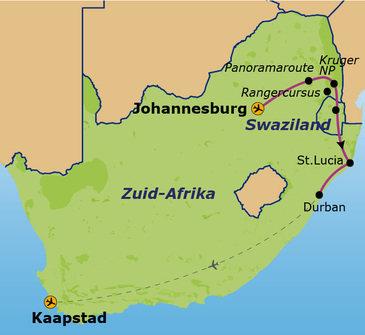 Zuid-Afrika, 16 dagen, Jo'burg - Kaapstad