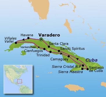 Route Cuba, 19 dagen