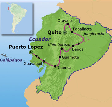 Route Ecuador, 20 dagen