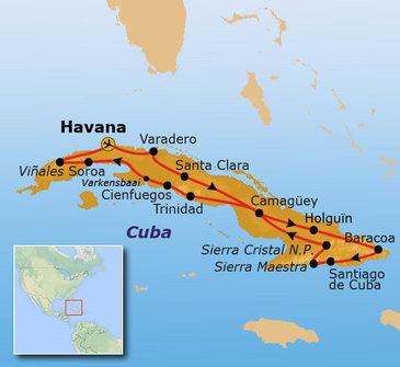 Cuba, 21 dagen