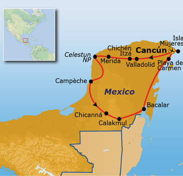 Route Mexico, 16 dagen