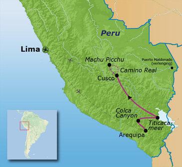 Route Peru, 16 dagen