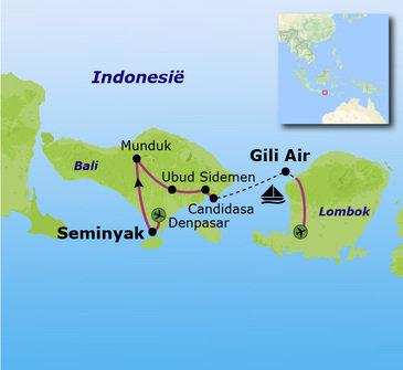 Route Bali, 20 dagen