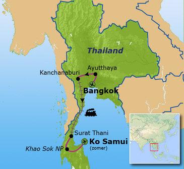 Thailand Chill & Adventure - vertrek 6 augustus (afsluiting Ko Samui)
