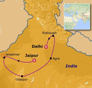 Route India, 23 dagen