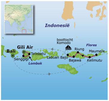 Kleine Sunda eilanden, 23 dagen