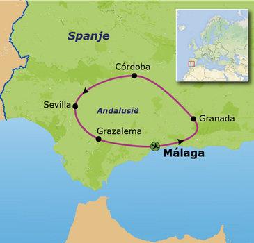 Andalusië Familiereis, 9 dagen