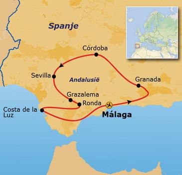 Andalusië Rondreis 2018, 10 dagen