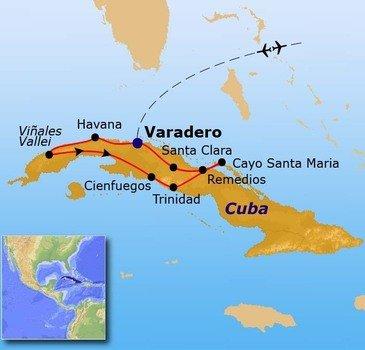 Route 2 Cuba, 16 dagen - Vanaf april 2017
