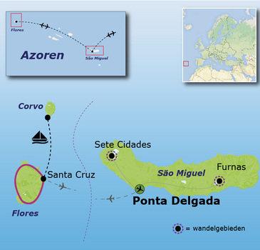 Azoren Familiereis, 8 dagen