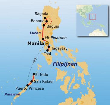 Route Filipijnen, 22 dagen