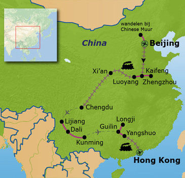 Route China, 22 dagen