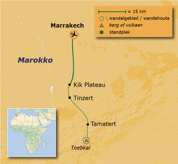 Route 13 daagse rondreis Marokko Anders Reizen wandelvakantie