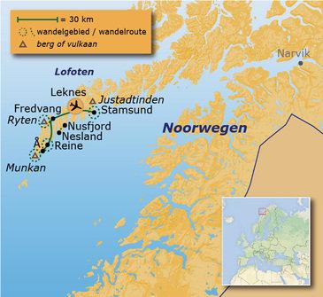 Route 10 daagse rondreis Noorwegen Anders Reizen wandelvakantie