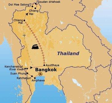 Route Thailand, 14 dagen