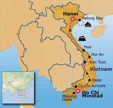 Route 24 daagse rondreis Vietnam Go-26