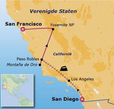 Route 20 daagse rondreis Verenigde Staten Californië