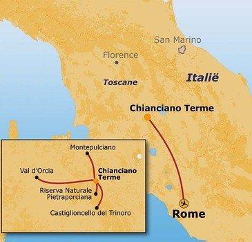 Route Italie - Cultuurreis, 8 dagen