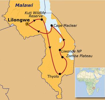 Route Malawi, 18 dagen