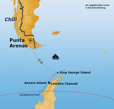 Route Antarctica: Crossing the Circle, 14 dagen