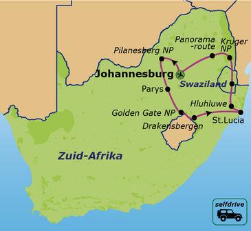 Zuid-Afrika Selfdrive, 20 dagen