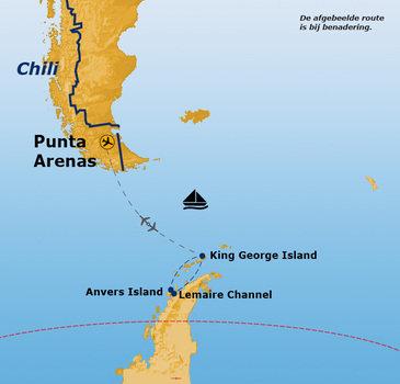 Antarctica, vliegen en varen, 15 dagen