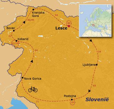 Fietsvakantie in Slovenië