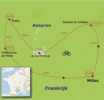 Fietsvakantie voor families in de Aveyron, vanaf 7 jaar