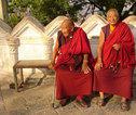 Rondreis Nepal Bij Swayambunath Stupa
