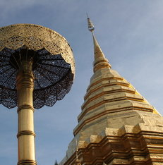 Doi Suthep tempel in Chiang Mai