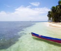 Strand nabij Pearl Lagoon