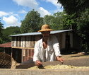Matagalpa, lokale man, koffie