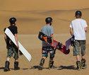 Sandboarden Swakopmund