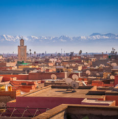 Marrakesh Atlas gebergte