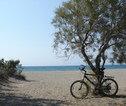 Fietsvakantie Griekenland Cycladen Strand