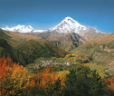Mount Kazbek Georgië