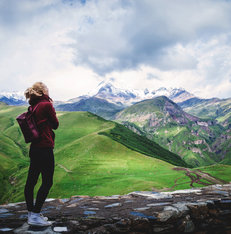 Hiking Kazbegi