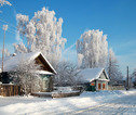 Rusland, winter, Suzdal