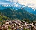 Familiereis Nepal uitzicht Annapurna