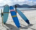 rondreis Indonesie Surfboards strand Bali