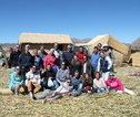 Rondreis Peru groepsfoto Titicaca