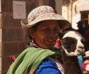 Familiereis Peru local lama