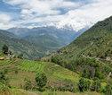 Familiereis Nepal Tolka landschap